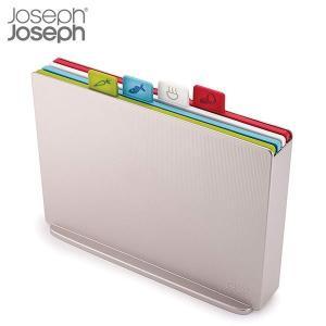 インデックス付まな板 アドバンス2.0 ラージは、用途別の4種類のまな板にスマートに収納できるケース...