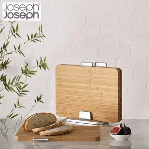 ジョセフジョセフ JosephJoseph インデックス付まな板バンブー 60141|n-tools