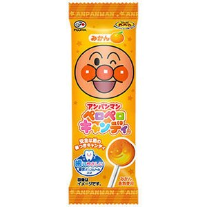 【メール便送料無料】不二家 アンパンマン ペロペロキャンディ   1本×25本|n-yakuhin