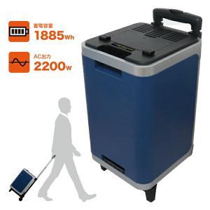 日本プロフィックス・エンジニアリング PVS-2000B【UPS機能付き】(ポータブルバッテリー リチウムイオンバッテリー ポータブル蓄電池 BCP対策) n-yakuhin