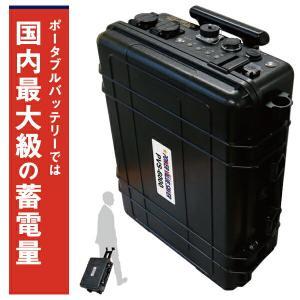 日本プロフィックス・エンジニアリング PVS-6000 (ポータブルバッテリー リチウムイオンバッテリー ポータブル蓄電池 BCP対策) n-yakuhin