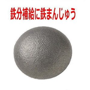 南部鉄器/アサヒ 健康鉄まんじゅう(鉄たまご)  F−10 鉄玉子 鉄分補給