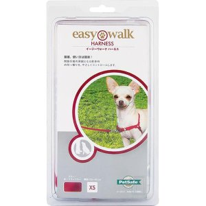 PetSafe Japan ペットセーフ イージーウォーク ハーネス レッド(赤/クランベリー) XS EW-H-XS-RD-18|nabike