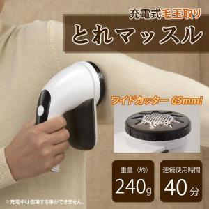 充電式毛玉取り とれマッスル Cl-60144|nabike