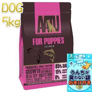 最短賞味2020.5.22・アートゥー 85%パピー サーモン 5kg 仔犬用ドライ AATU 正規品 aa13057|nachu