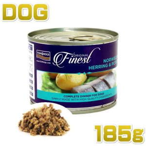 最短賞味2021.10・フィッシュ4ドッグ ニシンポテト 185g 穀物不使用 ウェット FISH4DOGS 正規品 f401472 nachu