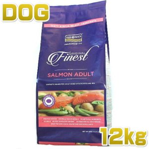 最短賞味2020.11.6・フィッシュ4ドッグ サーモン 小粒 12kg大袋 グレインフリーFISH4DOGS f4d03452|nachu