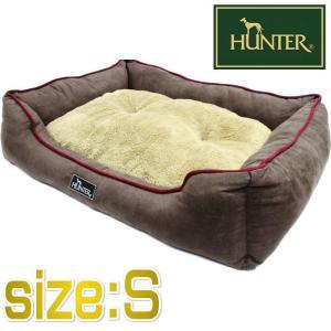 HUNTER ハンター ドッグソファ コテージ ブラウン Sサイズ ペット用ベッド 50×40×14cm|nachu