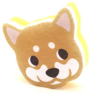 ハッピードッグ キッチンスポンジ しば犬 ksdsiba|nachu