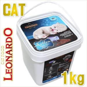 最短賞味2019.7・レオナルド キトン グラニュラスタート 1kg 子猫用離乳食 キャットフード LEONARDO 正規品 le55049|nachu