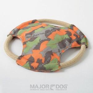 メジャードッグ フリスビー 特殊繊維 犬用おもちゃ MAJORDOG|nachu