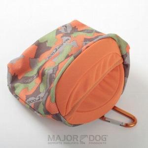 メジャードッグ Belt Bag(ベルトバッグ)迷彩 トリートポーチ おやつ入れ|nachu