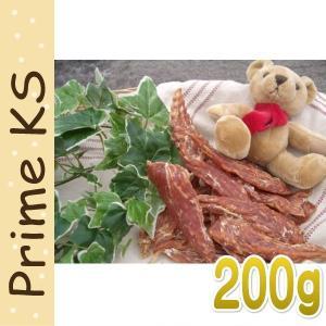 最短賞味2020.4・プライムケイズ 無薬鶏 ささみビッグ 200g 犬猫用・おやつ・無薬飼育・国産・無添加・PrimeKS pr10276|nachu