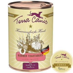 最短賞味2021.6・テラカニス 犬用 レッドフルーツ&ベジタブル 400g缶 一般食 ドッグフード TerraCanis 正規品|nachu
