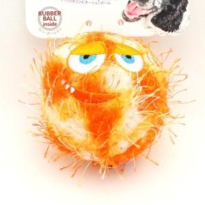 GiGwi クレイジーボール オレンジ 犬用おもちゃ nachu