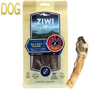NEW 最短賞味2020.4・ジウィピーク 犬 ラム トラキア 60g オーラルヘルスケア 犬用おやつ Ziwipeak 正規品 zi95693|nachu