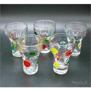 宙吹きガラス キャンディ フリーカップ 結婚内祝い 出産内祝い 贈答品 贈り物 お返し|nacole