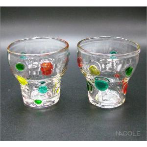 宙吹きガラス キャンディ ロックグラス 結婚内祝い 出産内祝い 贈答品 贈り物 お返し|nacole