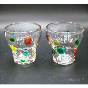 宙吹きガラス キャンディ ロックグラス 10個セット 結婚内祝い 出産内祝い 贈答品 贈り物 お返し|nacole