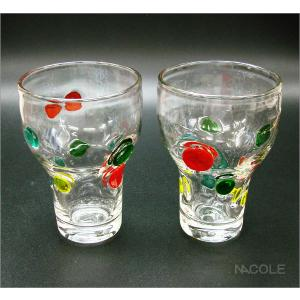 宙吹きガラス キャンディ ハイカップ 結婚内祝い 出産内祝い 贈答品 贈り物 お返し|nacole
