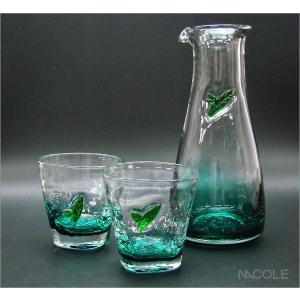 宙吹きガラス リーブス ピッチャー&グラス 結婚内祝い 出産内祝い 贈答品 贈り物 お返し nacole