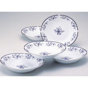 ナルミ ペレーネブルー カレー皿&パスタ皿セット(結婚内祝い 出産内祝い おしゃれ ギフト お返し)|nacole