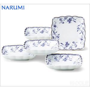 ナルミ ペレーネブルー 12cm取り皿揃 結婚内祝い 出産内祝い 贈答品 贈り物 お返し|nacole