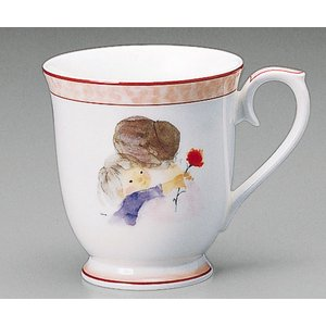 母の日ギフト ナルミ いわさきちひろ マグカップ カーネーション(結婚内祝い 出産内祝い おしゃれ ギフト お返し)|nacole