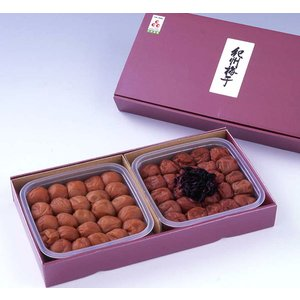梅干しギフト 味二重 技・蜂蜜梅 300g×2|nacole