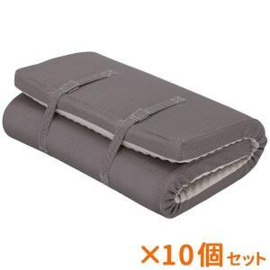 まとめ買い 10個セット 西川リビング 体圧分散マットレスRAKURA 健康敷布団バッグ入(熨斗・包装不可)|nacole