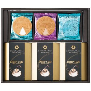 ギフト コーヒーギフト ゴーフル・コーヒーギフト 結婚内祝い 出産内祝い 贈答品 贈り物 お返し|nacole