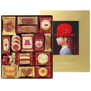 お菓子ギフト 赤い帽子クッキー詰合せ ゴールドボックス お菓子ギフト 結婚内祝い 出産内祝い 贈答品 ホワイトデーギフト 贈り物 お返し nacole