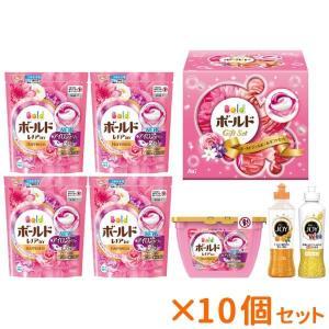 まとめ買い 10個セット P&G ボールドジェルボール洗剤ギフトセット PGJB-40X|nacole