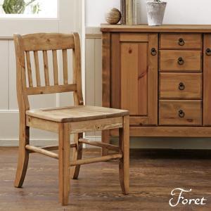 Foret フォレダイニングチェア 幅42cm 天然木 木製 無垢 食卓 椅子 いす カントリー おしゃれ 人気 おすすめ|nacole