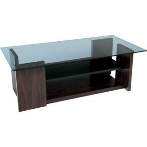 8mm グレー強化ガラステーブル ローテーブル コーヒーテーブル センターテーブル ガラストップ シンプル モダン 木製(おしゃれ 人気 おすすめ)|nacole
