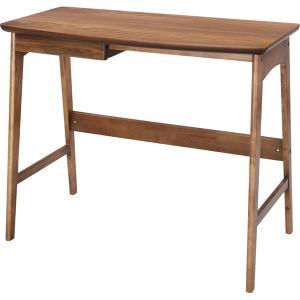 天然木 デスク 幅90cm Tomte トムテ 天然木 木製 学習机 テーブル パソコンデスク PCデスク(おしゃれ 人気 おすすめ)|nacole