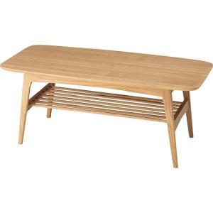 センターテーブル ナチュラル 幅105cm 天然木 コーヒーテーブル ローテーブル(おしゃれ 人気 おすすめ)|nacole