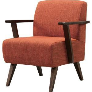 メーカー直送 一人掛け チェア Moti モティブラウン 幅61cm 天然木 木製 椅子 イス いす ソファ ソファー 肘掛け(おしゃれ 人気 おすすめ)|nacole