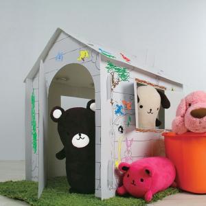 塗り絵もできちゃうKids house キッズハウス12色カラーペン付き おしゃれ 人気 おすすめ|nacole