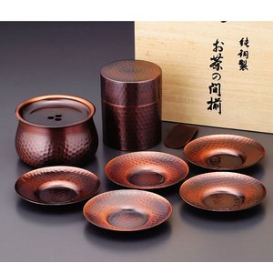 食楽工房 茶筒・建水・茶托セット|nacole