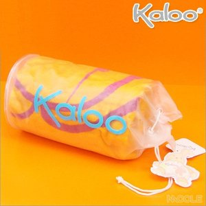 Kaloo カルービーチタオル オレンジ ビーチコレクション(結婚内祝い 出産内祝い おしゃれ 寒中見舞いギフト お返し)|nacole