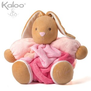 Kaloo カルーうさぎ ぬいぐるみ 大 パッチワークピンク プルーム 兎 ウサギ クリスマスプレゼント|nacole