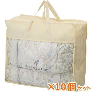 まとめ買い 10個セット ギフト ヴァレンティノ・クリスティー 羽毛布団バッグ入 結婚内祝い 出産内祝い お中元 ギフト 御中元 贈答品 贈り物|nacole
