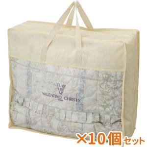 まとめ買い 10個セット ギフト ヴァレンティノ・クリスティー 羽毛布団バッグ入 結婚内祝い 出産内祝い 贈答品 贈り物|nacole