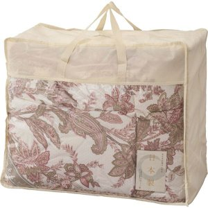 ギフト ダウン85%入り羽毛布団 ピンク 結婚内祝い 出産内祝い 贈答品 贈り物 お返し|nacole