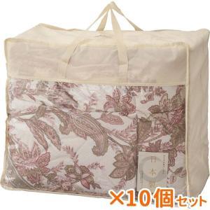 まとめ買い 10個セット ギフト ダウン85%入り羽毛布団 ピンク 結婚内祝い 出産内祝い 贈答品 贈り物|nacole