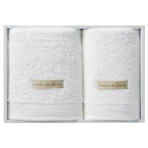 ギフト ハーフバスタオル&フェイスタオル ホワイト 日本製)結婚内祝い 出産内祝い 贈答品 贈り物 お返し|nacole