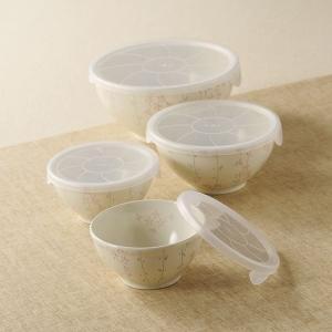 市田ひろみ 京みやび ノンラップ鉢7pcsセット(日本製 和食器)(内祝い おしゃれ ギフト 贈答品)|nacole