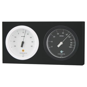 エンペックス MONO温度計・湿度計(日本製 温湿時計)(内祝い おしゃれ ギフト 贈答品)|nacole