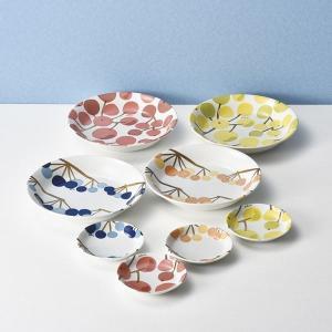 ギフト Plune. 木の実たち カレー&プレート8P 日本製 洋食器 結婚内祝い 出産内祝い 贈答品 贈り物 お返し|nacole